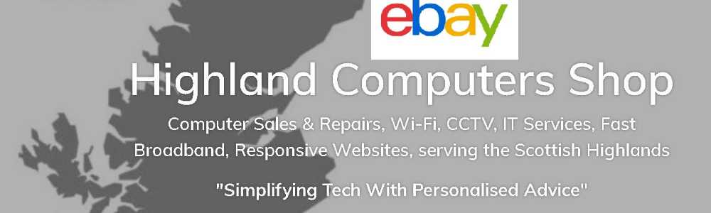 Highland Computers eBay Shop